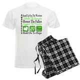 Lymphoma Hope Tribute pajamas