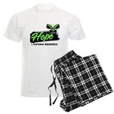 Hope Tattoo Butterfly Lymphom Pajamas