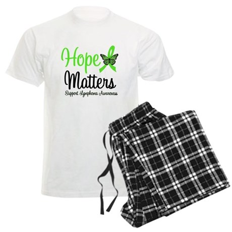 Hope Matters Lymphoma Men's Light Pajamas