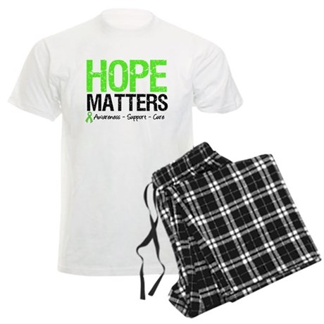 Hope Matters Grunge Men's Light Pajamas