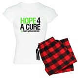 Lymphoma Hope 4 a Cure pajamas