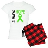 Lymphoma Always Hope pajamas