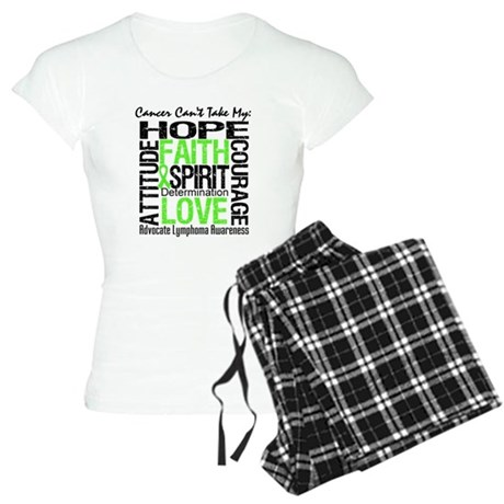 Cancer Can't - Lymphoma Women's Light Pajamas