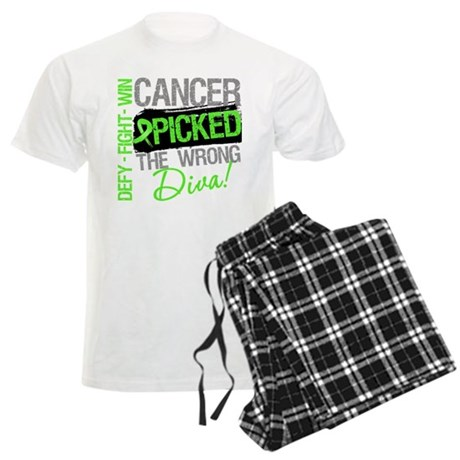 Lymphoma Diva Men's Light Pajamas