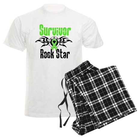 LymphomaSurvivorRockStar Men's Light Pajamas