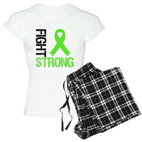 Lymphoma Fight Strong Women's Light Pajamas