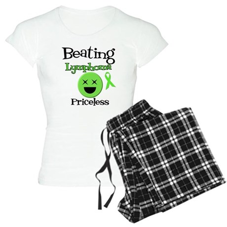 Beating Lymphoma Women's Light Pajamas