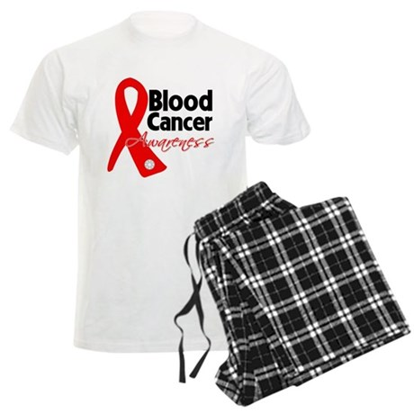 Blood Cancer Ribbon Men's Light Pajamas
