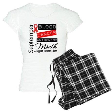 Blood Cancer Month v3 Women's Light Pajamas