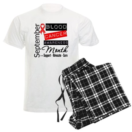 Blood Cancer Month v3 Men's Light Pajamas