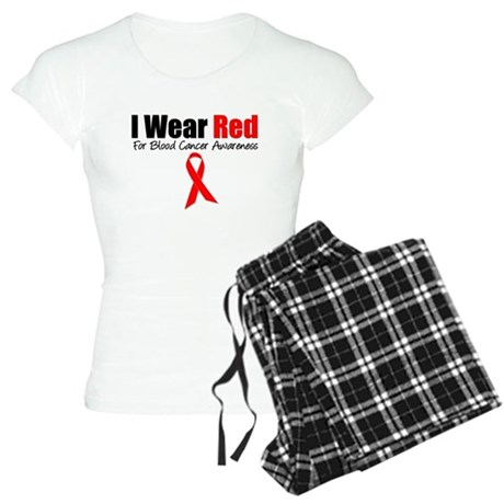 IWearRed Blood Cancer Women's Light Pajamas