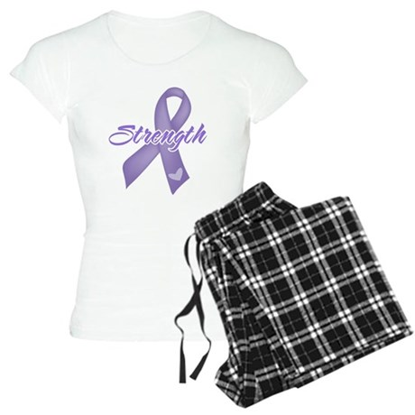 Strength Hodgkins Lymphoma Women's Light Pajamas