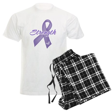 Strength Hodgkins Lymphoma Men's Light Pajamas