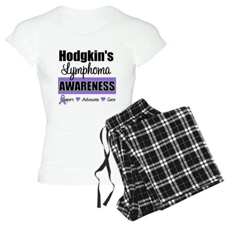 Hodgkin's Lymphoma Awareness Women's Light Pajamas