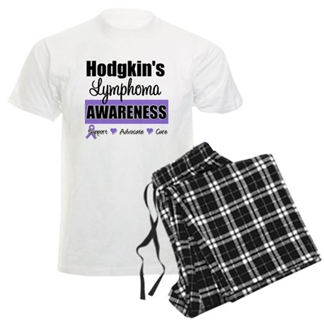 Hodgkin's Lymphoma Awareness Men's Light Pajamas
