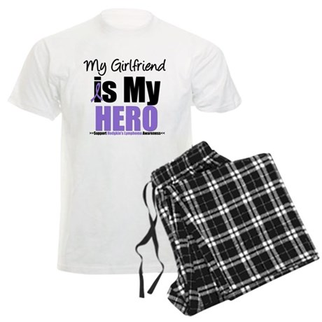 Hodgkin's Lymphoma Hero Men's Light Pajamas