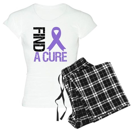 Hodgkin's Find a Cure Women's Light Pajamas