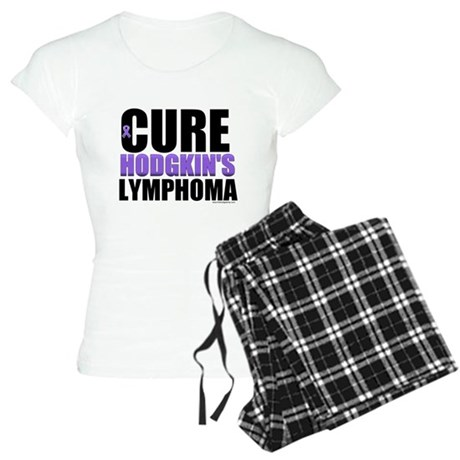 Cure Hodgkin's Lymphoma Women's Light Pajamas