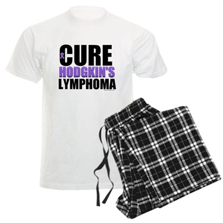 Cure Hodgkin's Lymphoma Men's Light Pajamas