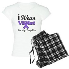 I Wear Violet For Daughter Pajamas