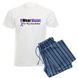 Violet Grandfather pajamas