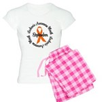 Leukemia Survivor Circle Women's Light Pajamas