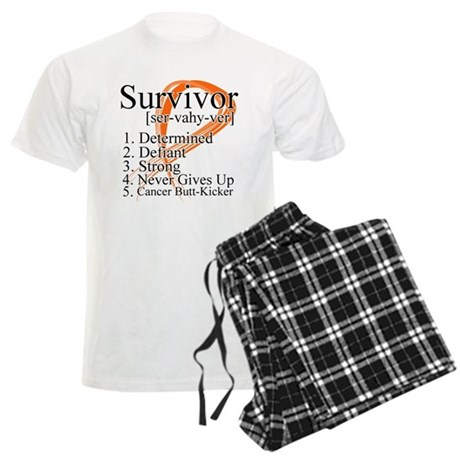 Leukemia Survivor Definition Men's Light Pajamas