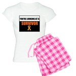 Leukemia Survivor Women's Light Pajamas