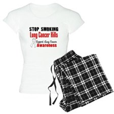 Stop Smoking Lung Cancer Pajamas