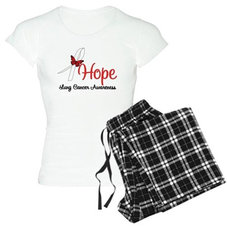 Hope Lung Cancer Women's Light Pajamas