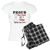 ProudBFLungCancer Hero Pajamas