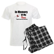 InMemoryNana Lung Cancer Pajamas