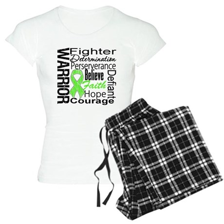 Non-Hodgkins Warrior Women's Light Pajamas