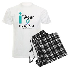 Thyroid Cancer Men's Light Pajamas