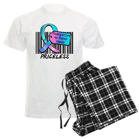 Thyroid Cancer Cure Men's Light Pajamas