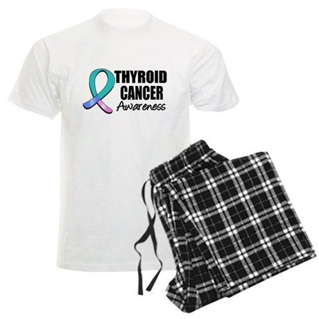 Thyroid Cancer Awareness Men's Light Pajamas