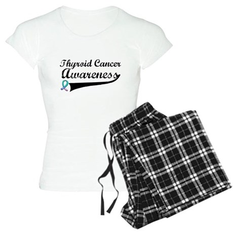 Thyroid Cancer Awareness Women's Light Pajamas
