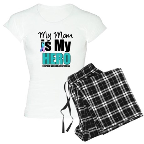 Thyroid Cancer Hero Women's Light Pajamas