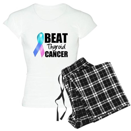 Beat Thyroid Cancer Women's Light Pajamas