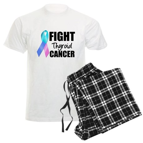 Fight Thyroid Cancer Men's Light Pajamas