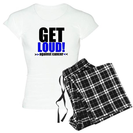 GetLoudAgainstCancer Women's Light Pajamas