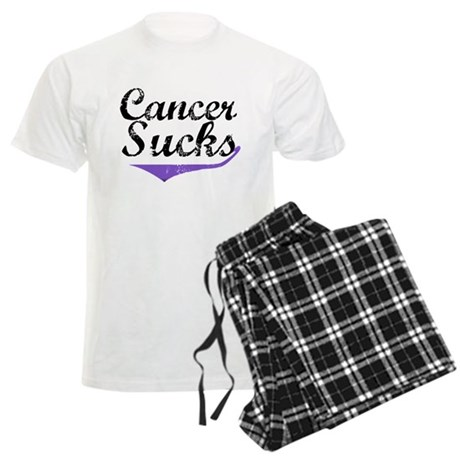 Cancer Sucks (Hodgkin's) Men's Light Pajamas