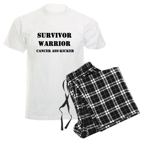 Cancer Warrior Men's Light Pajamas