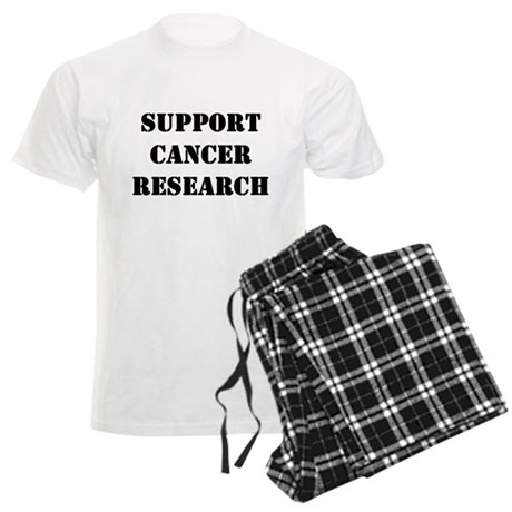 Support Cancer Research Men's Light Pajamas