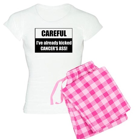 Kicked Cancer's Ass Women's Light Pajamas