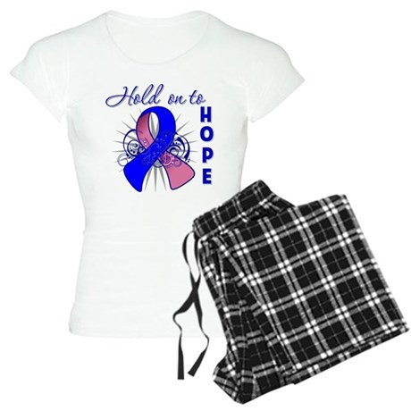 Male Breast Cancer Women's Light Pajamas