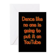YouTube Dance Greeting Cards (Pk of 10)