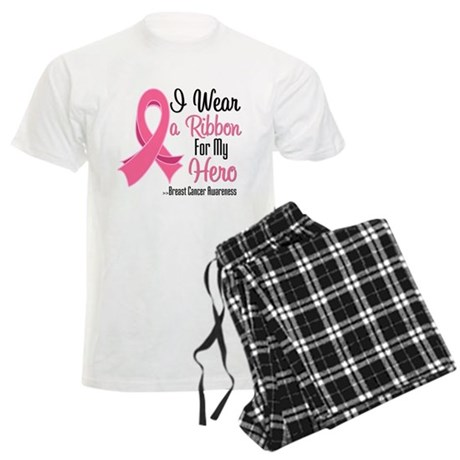Hero - Breast Cancer Men's Light Pajamas