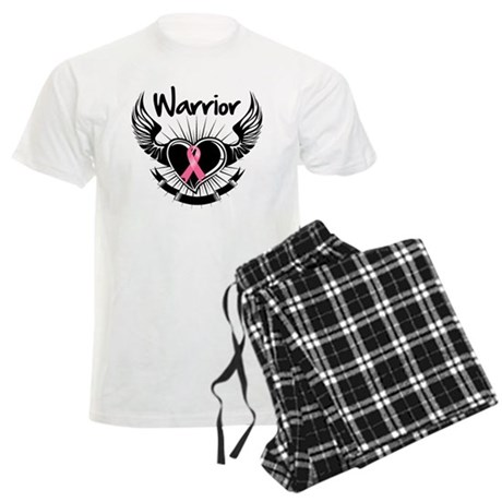Breast Cancer Warrior Men's Light Pajamas