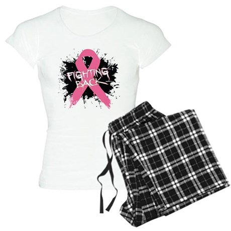 Fighting Back Breast Cancer Women's Light Pajamas
